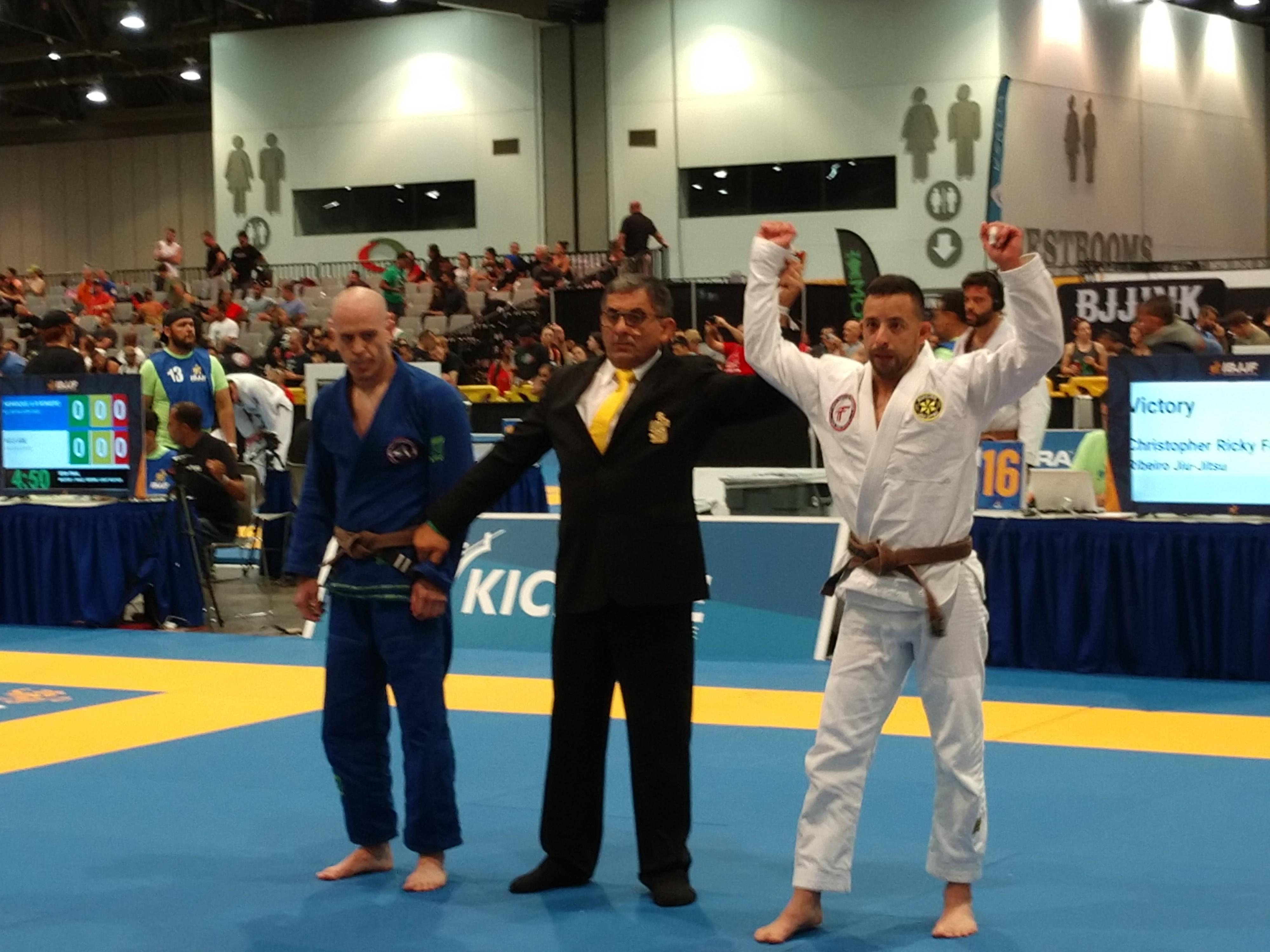 Chris Farias World Master IBJJF