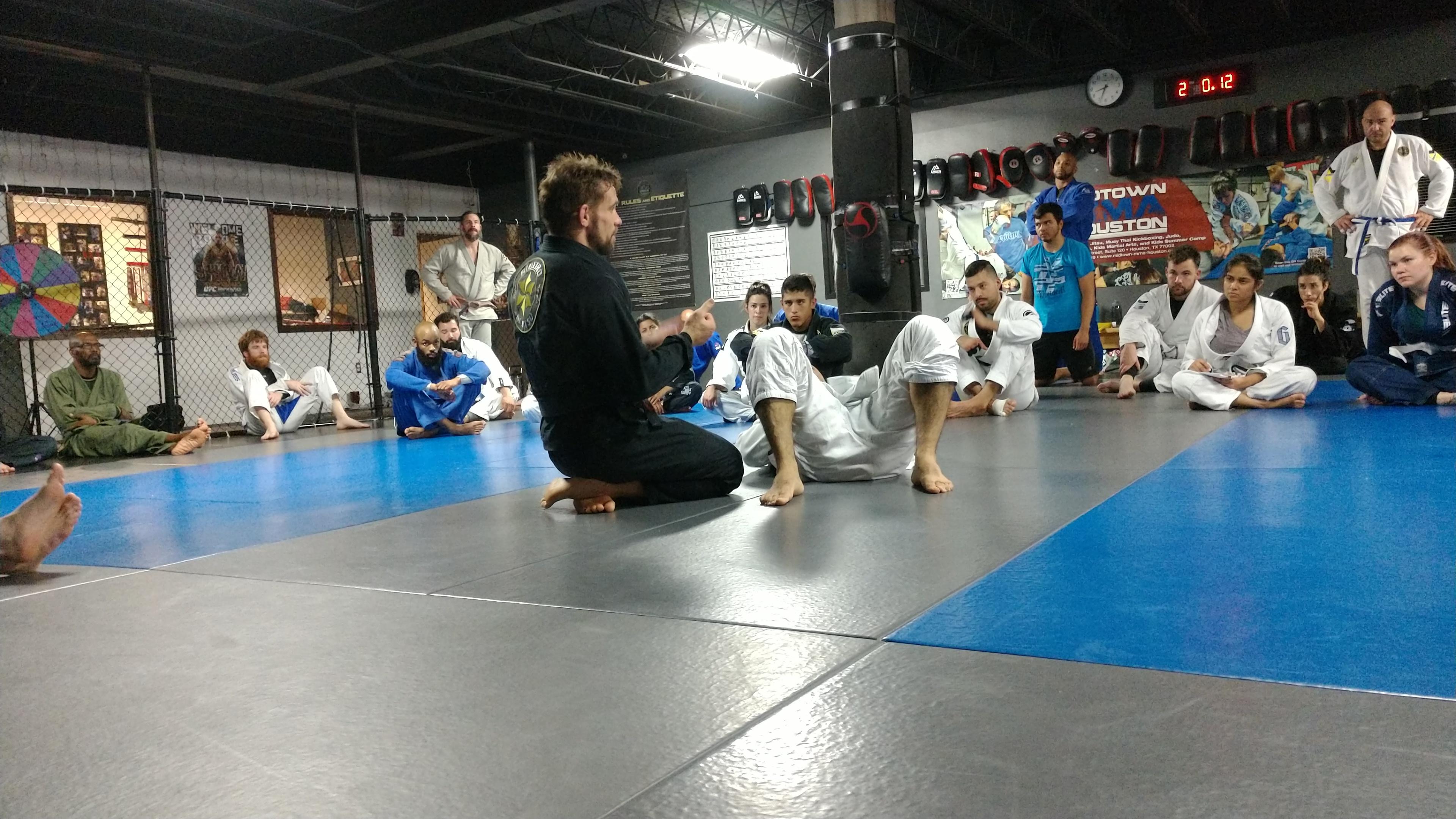 Brazilina Jiu-jitsu Instruction