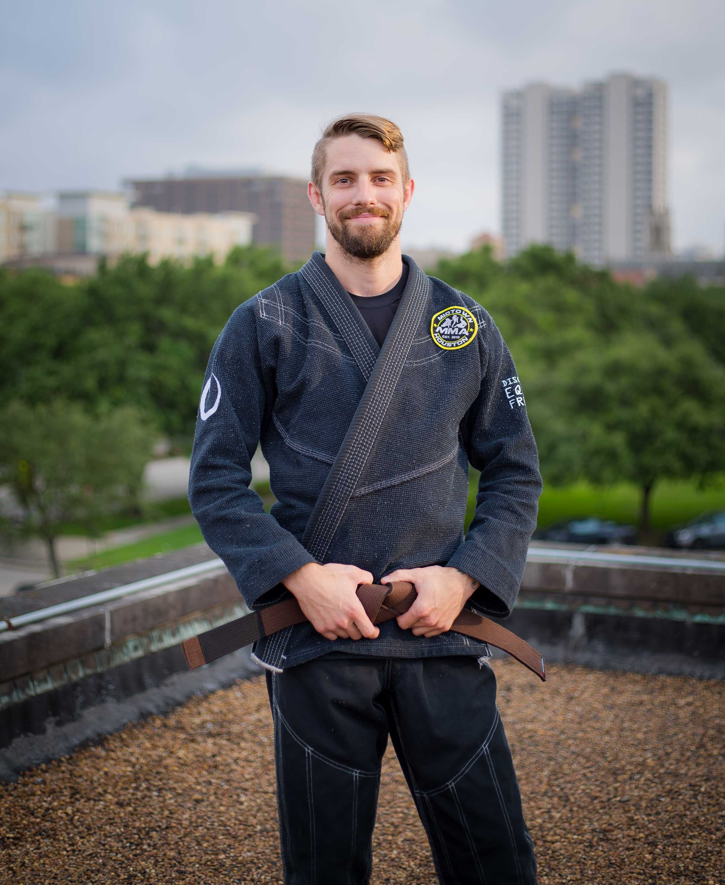 Coach Zach Lussier Brazilian Jiu-Jitsu Brown Belt