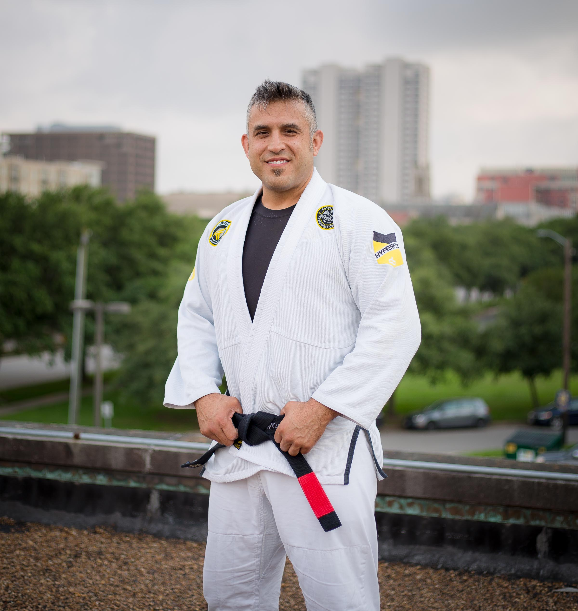 Professor Chris Martinez Brazilian Jiu-Jitsu Black Belt Muay Thai Instructor