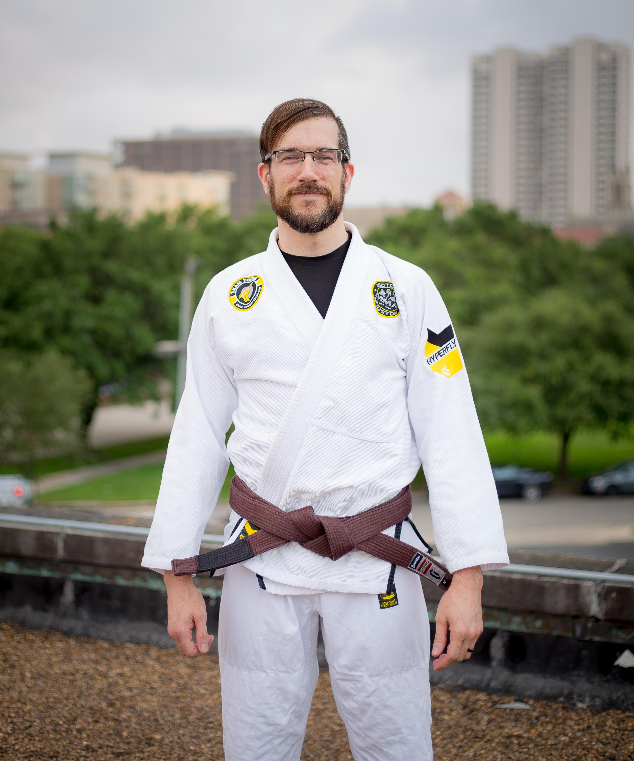 Andrew Degar Brazilian Jiu-Jitsu Brown Belt No-Gi Instructor