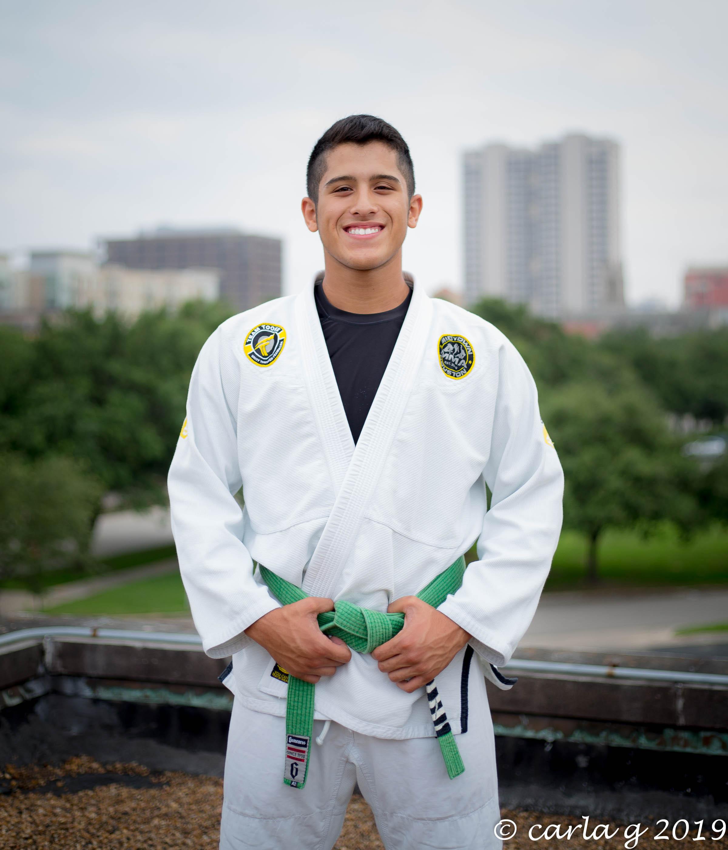 Coach Chris Martinez Jr Brazilian Jiu-Jitsu Green Belt