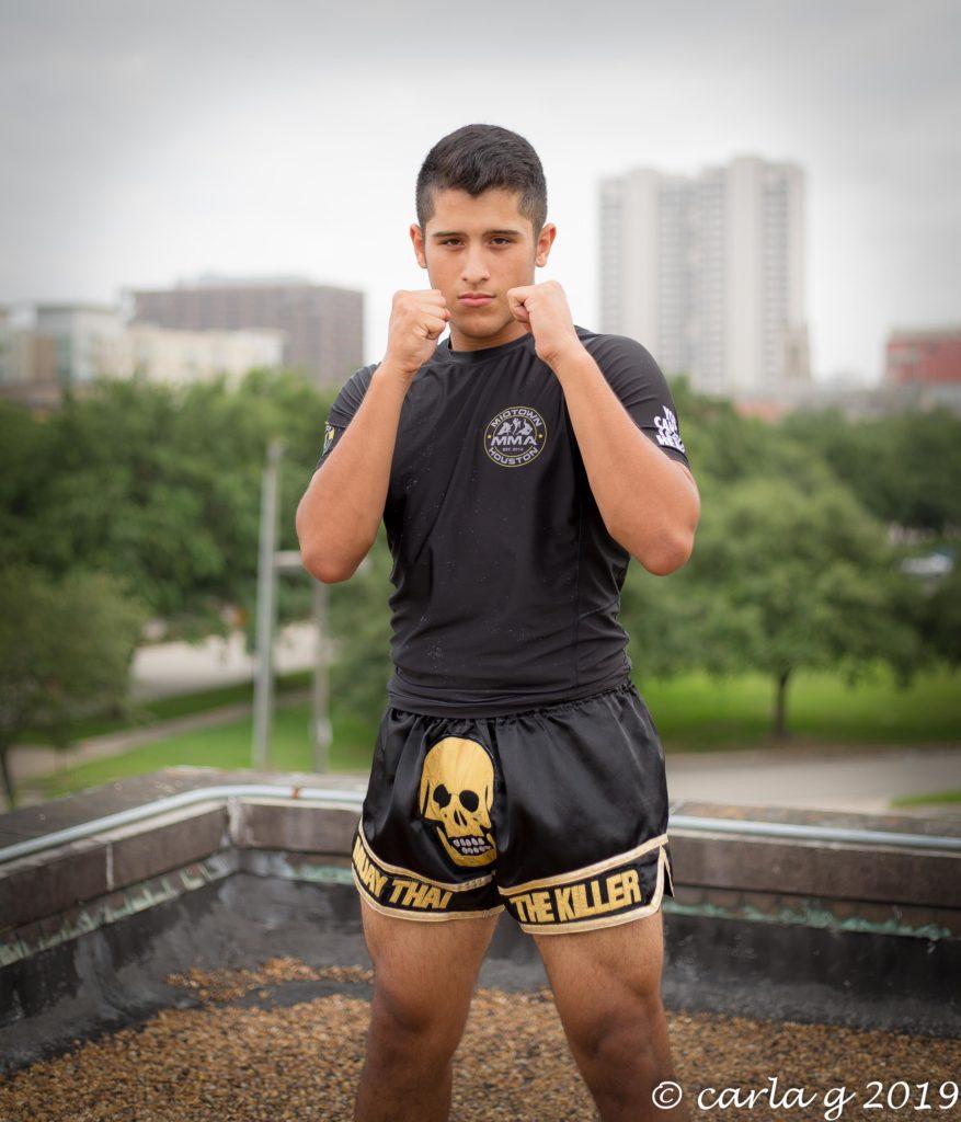 Coach Chris Martinez Jr Kids Muay Thai Instructor
