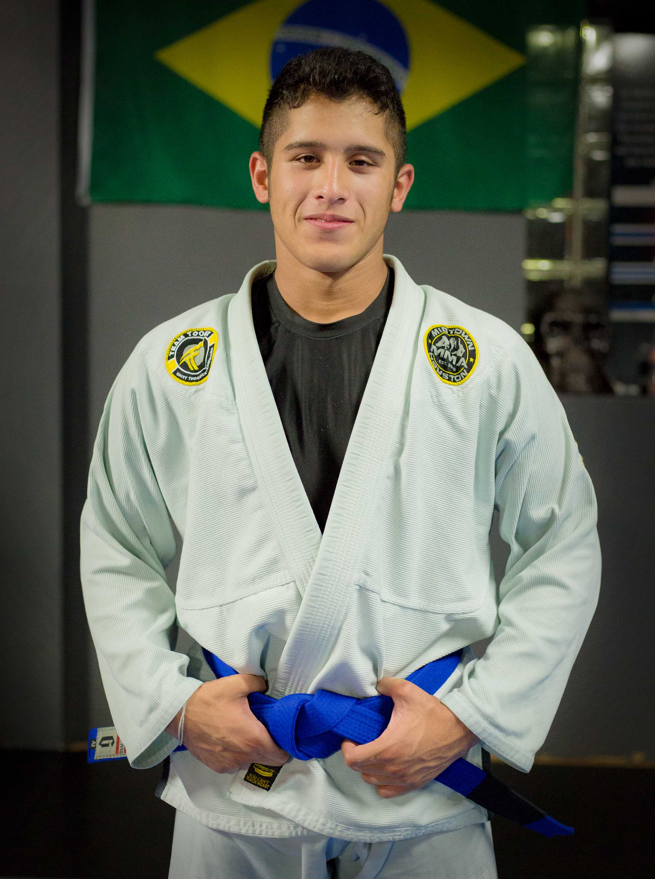 Coach Chris Martinez Jr Brazilian Jiu-Jitsu Blue Belt