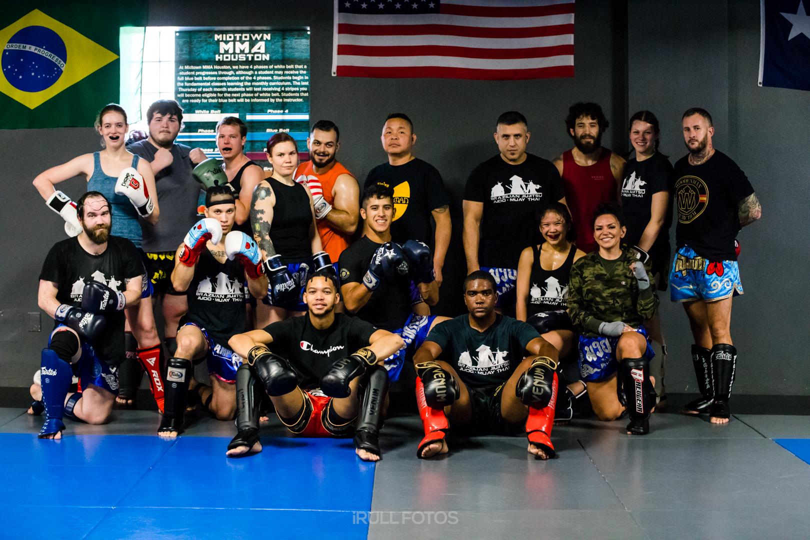 Jongsanan Fairtex at Midtown MMA Houston